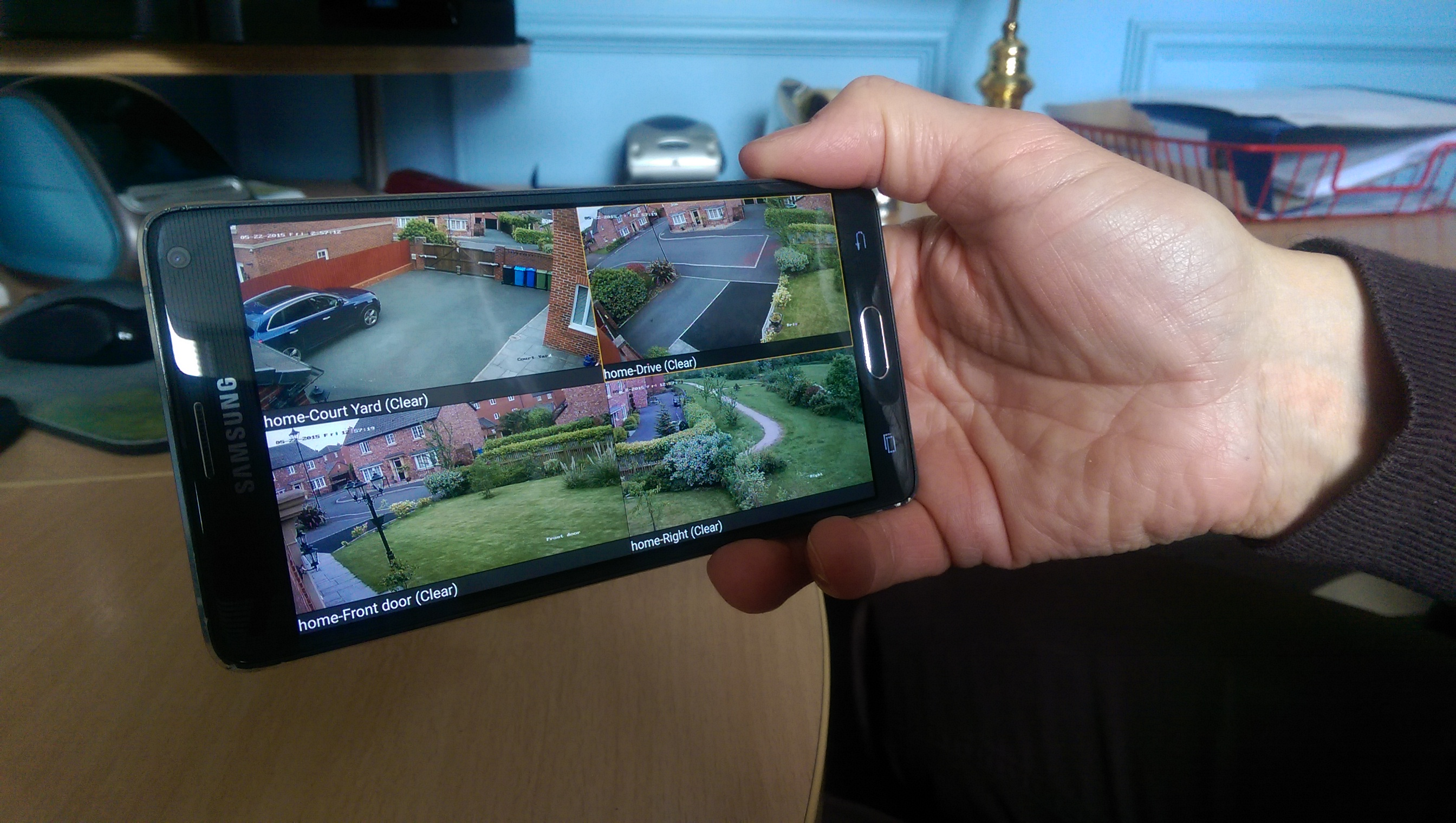 High Definition CCTV on Smartphone