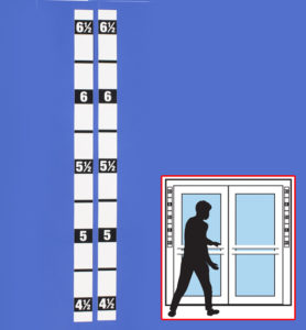 Height strips