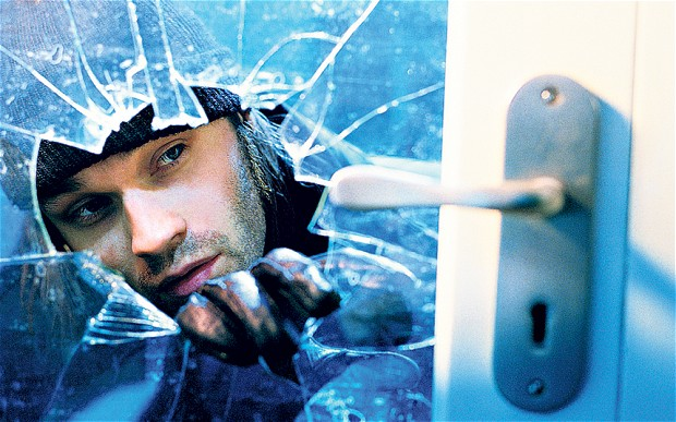 Four in five burglaries go unsolved!