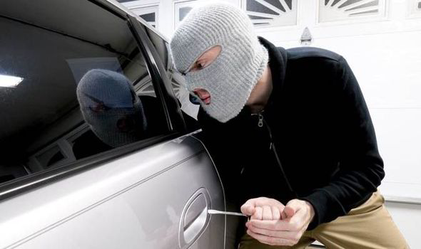 WATCH: Shocking wave of car crime sweeping Britain revealed by the criminals themselves