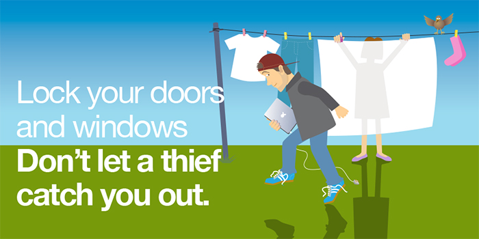 It's summer and thieves are looking for opportunities